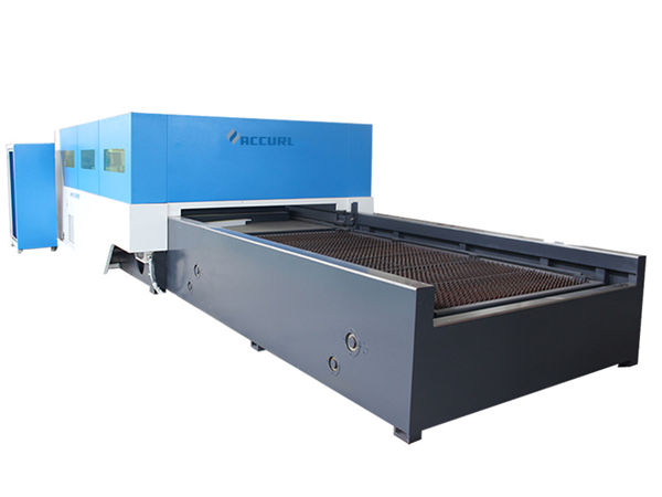 máquina de corte de alta velocidade do cnc da chapa metálica eixo estável do eixo z de seguimento automático