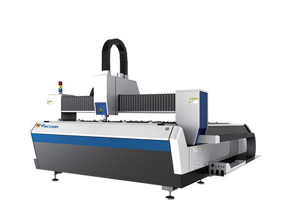 Dupla utilização cnc metal cortador de laser, máquina a laser de fibra automática cnc